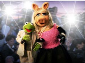 Kermit and Ms Piggy