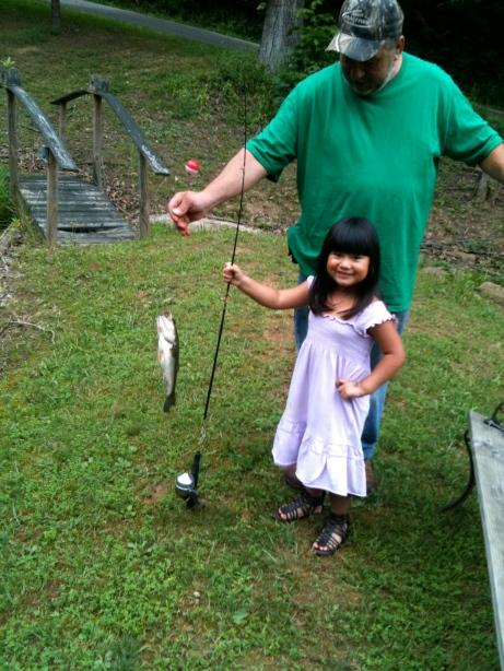 Fist Fish with Papaw