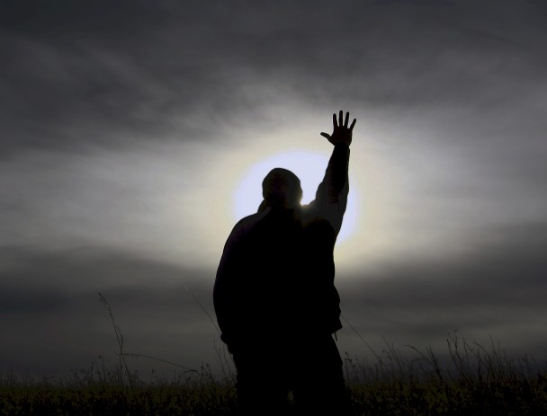 Man Praying image from Google image search