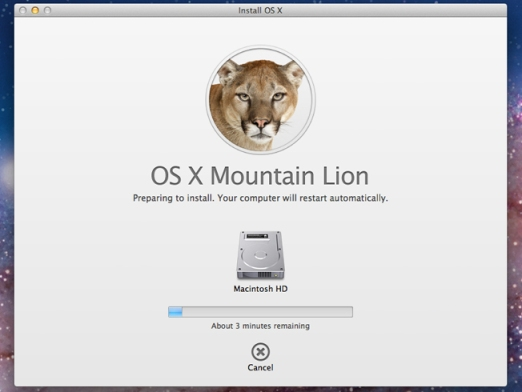 OSX Mountain Lion